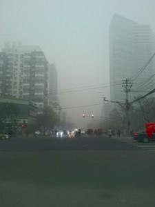 Quelque part sur l'avenue Dongzhimen waidajie